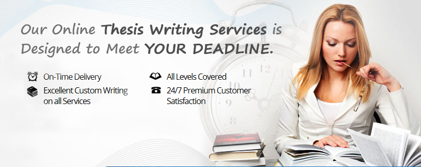 Get Top-Notch Thesis Writing on Any Topic and Discipline