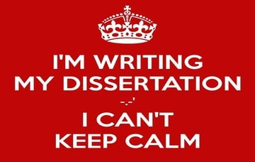 How to write impressive dissertation