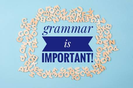 Grammar is very Important.