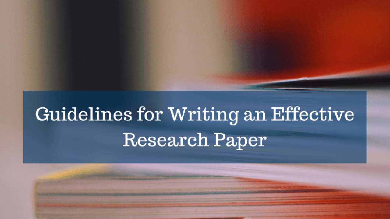 Guidelines for writing research paper finance dissertation proposal