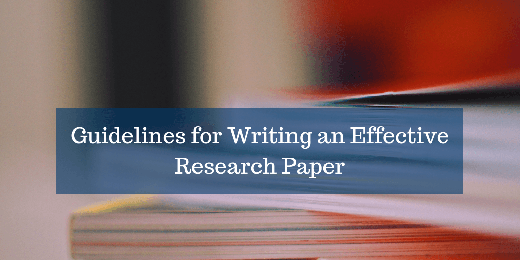 Read About The Basics Of Research Paper Writing